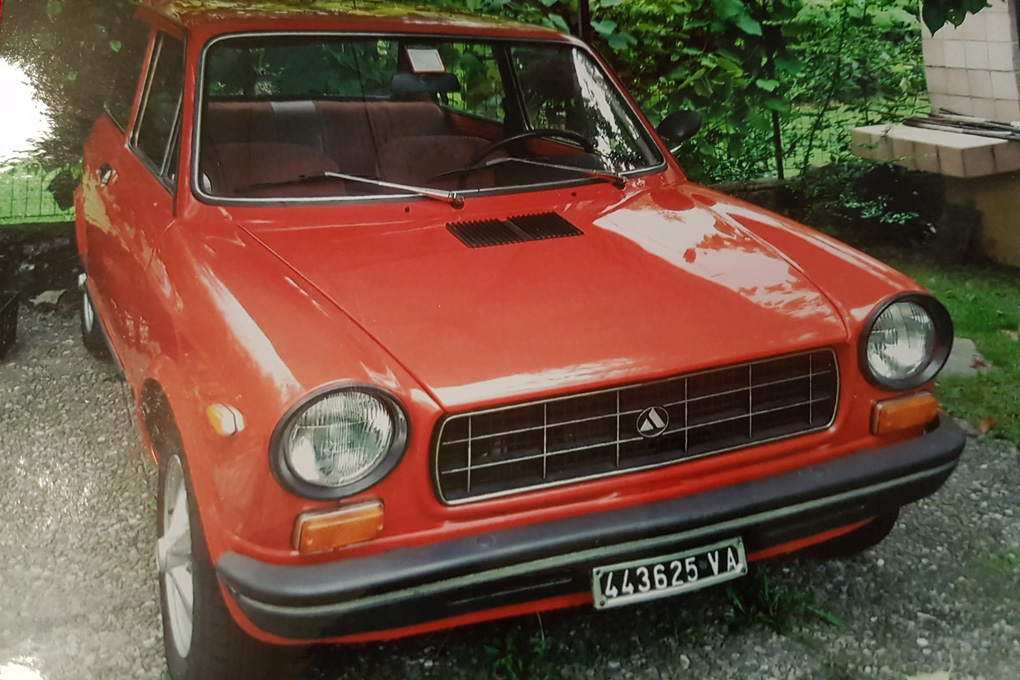 Autobianchi A 112 ELEGANT, anno 1974