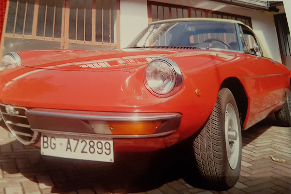 Alfa Romeo Spider, anno 1980