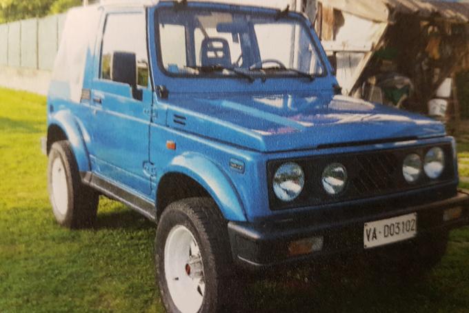 Suzuki Samurai, anno 1991